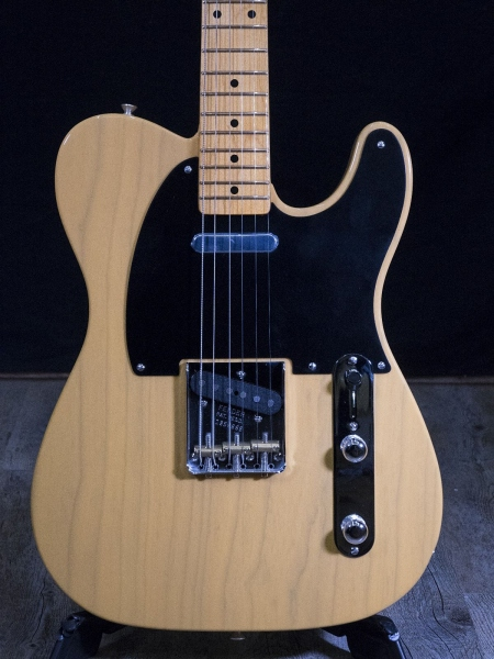 FENDER AMERICAN ORIGINAL 50S TELECASTER BUTTERSCOTCH BLOND 3