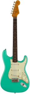 FENDER LIMITED 62/63 STRATOCASTER JOURNEYMAN RELIC RW AGED SEAFOAM GREEN