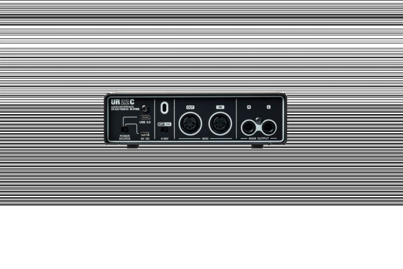 STEINBERG UR22C SCHEDA AUDIO 1