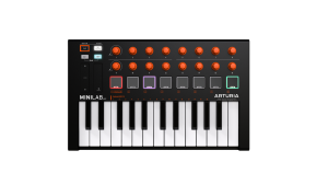 Arturia Minilab Mk2 Orange Edition Controller Midi 25 Tasti