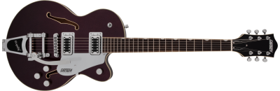 GRETSCH G5655TG ELECTROMATIC SINGLE-CUT WITH BIGSBY DARK CHERRY METALLIC