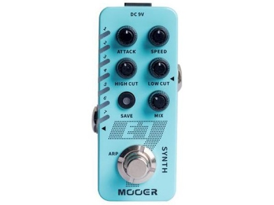 MOOER E7 GUITAR SYNTH PEDALE EFFETTO