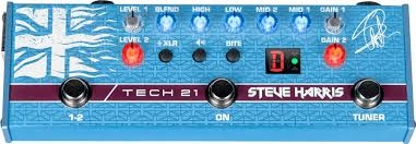 TECH21 STEVE HARRIS SIGNATURE PEDAL SH1