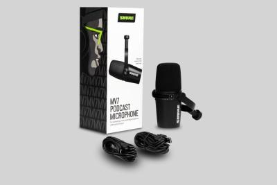 Shure Mv7-K Microfono Dinamico Usb