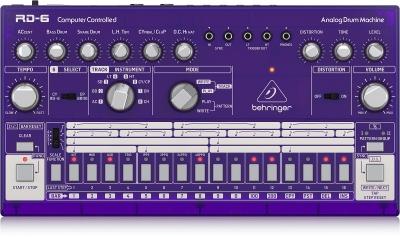 Behringer Rd6 GP Analog Drum Machine