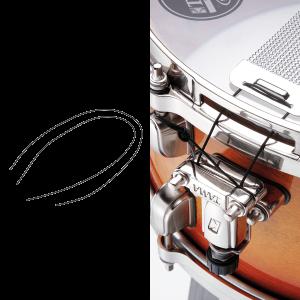 Tama Spc50P4 Set 2 Corde In Kevlar Per Cordiera