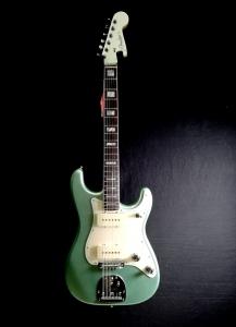 Fender Parallel Universe Vol Ii Jazz Strat Mystic Surf Green