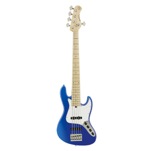 SADOWSKY METRO EXPRESS 5 21 JJ BASS SOLID OCEAN BLUE METALLIC