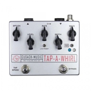 CUSACK MUSIC TAP A WHIRL PEDALE EFFETTO