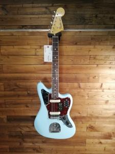 Fender American Original 60 Jaguar Daphne Blue Chitarra Elettrica