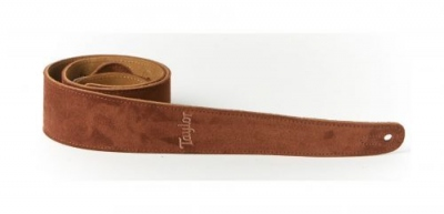 TAYLOR TS250-05 TRACOLLA CHOCOLATE SUEDE LOGO