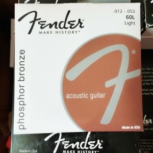 Fender Muta 60L Phosphor Bronze per Chitarra Acustica 12-53