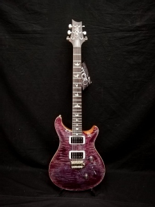 PRS CUSTOM 24 PATTERN THIN VIOLET BLUE BURST