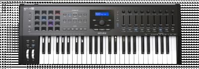 ARTURIA KEYLAB MKII 49 BLACK+V COLLECTION 6 OMAGGIO CONTROLLER MIDI