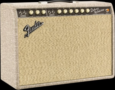 FENDER LTD 65 DELUXE REVERB FAWN GREENBACK