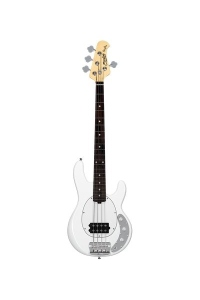 Sterling By Music Man Stingray Ray 4C Short Scale Olympic White