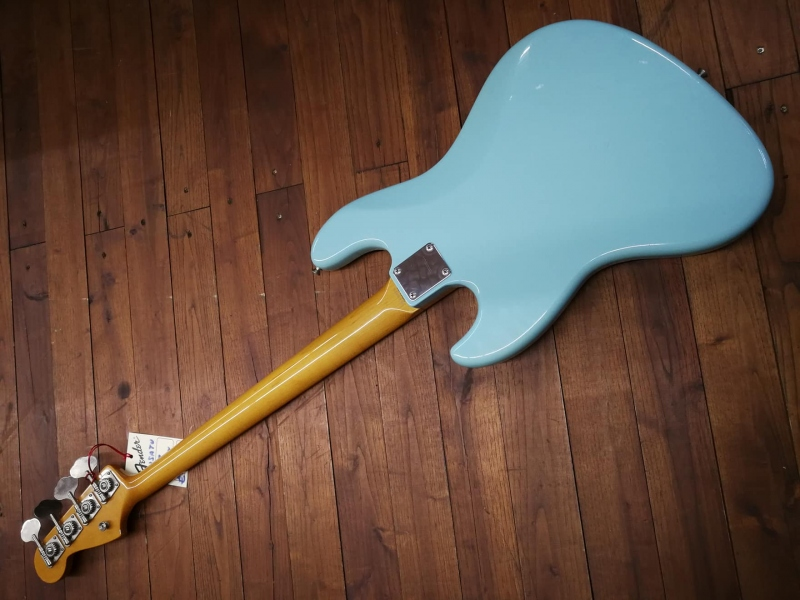Fender Jazz Japan 4 Sonic Blue Usato 2