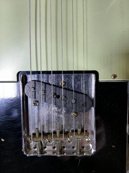 Fender 63 Telecaster heavy relic 2017 usata 3