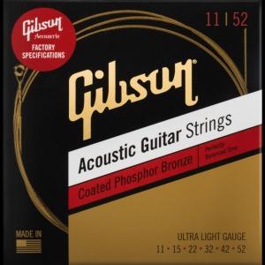 Gibson Coated Phosphor Bronze Corde Per Acustica 011-52