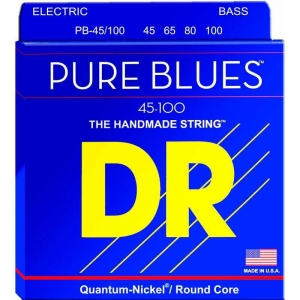 DR STRINGS CORDE PURE BLUES BASS 45-100 NICKEL