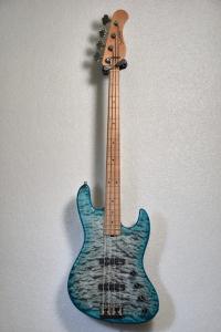Sadowsky Metroline Jj Bass 4 21 Std Ltd 2020 Whale Blue Satin