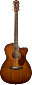 Fender Paramount Pm3 Triple 0 All Mahogany Natural