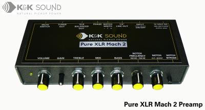 K&K SOUND PURE Xlr PRE USATO
