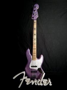Fender Jazz Adam Clayton Purple Sparkle usato