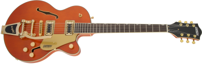 GRETSCH G5655TG ELECTROMATIC JR. SINGLE-CUT WITH BIGSBY ORANGE STAIN