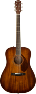 Fender Paramount Pm1 Standard Dreadnought All Mahogany Ne