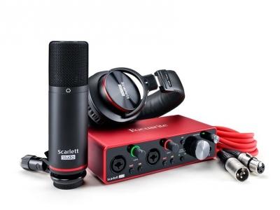Focusrite Scarlett 2I2 Studio 3Rd Gen Scheda Audio Usb