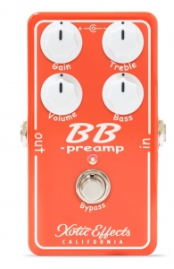 XOTIC BB PREAMP V1.5 PEDALE EFFETTO