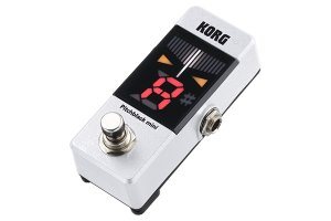 Korg Pitchblack mini - Accordatore a pedale bianco