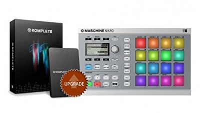 NATIVE INSTRUMENTS BUNDLE MASCHINE MIKRO MKII WH + KOMPLETE 11 - OFFERTA