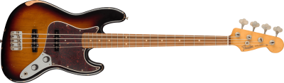 FENDER 60TH ANNIVERSARY ROAD WORN JAZZ BASS 3 COLOR SUNBURST