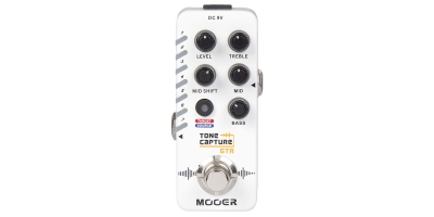 MOOER TONE CAPTURE GUITAR MODELER