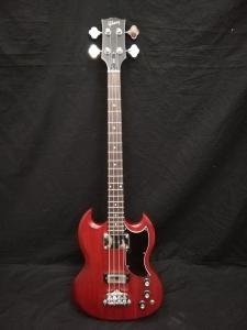 Gibson SG bass cherry satin usato