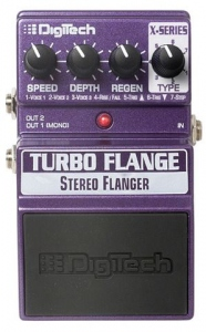 DIGITECH XTF STEREO TURBO FLANGER PEDALE EFFETTO
