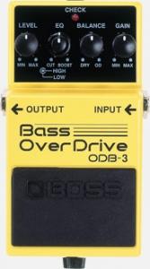 boss odb3 bass overdrive usato