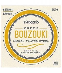 D'Addario Ej97 Muta Per Bouzouki Greco 6 Corde Acciaio