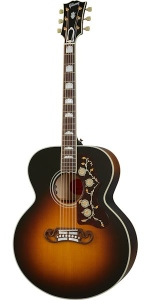 Gibson Sj-200 Original Vintage Sunburst Chitarra Acustica Elettrificata