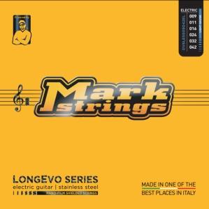 Dv Mark Muta per Chitarra Elettrica Longevo Stainless Steel Light 09-42