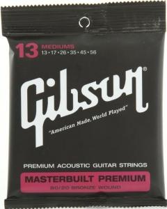 GIBSON SAG-BRS13 MASTERBUILT PREMIUM 80-20 BRONZE 13-56