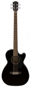 Fender Cb-60Sce Black Basso Acustico Elettrificato