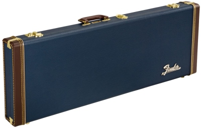 Fender Classic Series Wood Case Stratocaster Telecaster Navy Blue