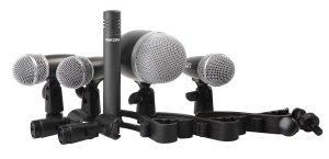 Proel Kit Microfoni Per Batteria Da 5 Pezzi Con Custodia
