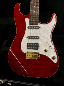 Schecter Sun Set custom SSH red usata