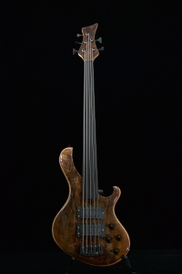 Maruszczyk Frog Omega 5A Wally Natural Fretless Usato