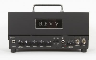 REVV D20 TESTATA AMP HEAD
