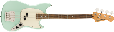 SQUIER CLASSIC VIBE 60 MUSTANG SURF GREEN BASSO ELETTRICO SHORT SCALE